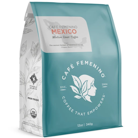 CAFE FEMENINO MEXICO WHOLE BEAN COFFEE