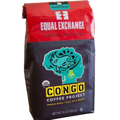 CONGO PROJECT WHOLE BEAN COFFEE