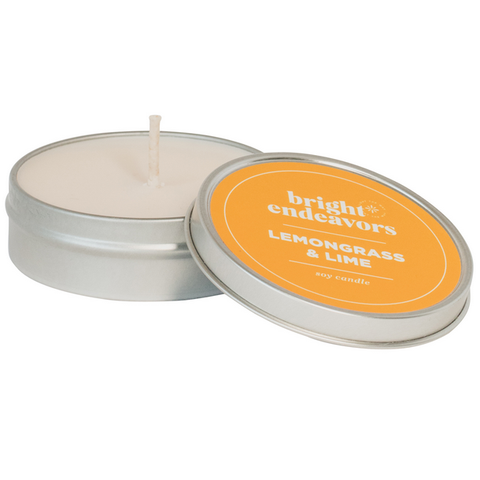 SPA TIN CANDLE