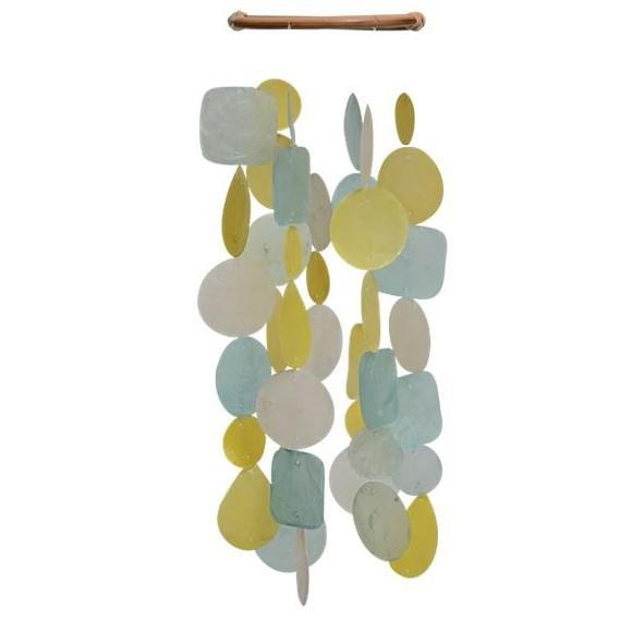 SMALL CAPIZ WIND CHIME