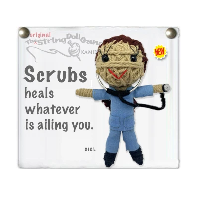 SCRUBS GIRL STRING DOLL