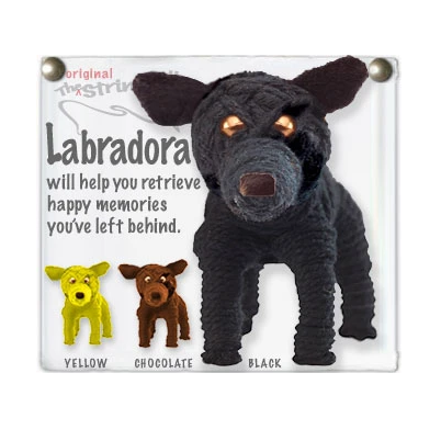 LABRADORA STRING DOLL