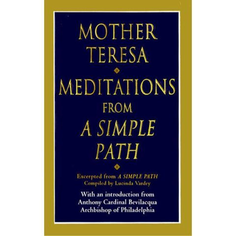 MEDITATIONS FROM MOTHER TERESA BOOK