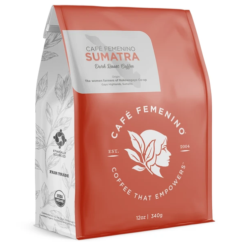 CAFE FEMENINO SUMATRA WHOLE BEAN COFFEE