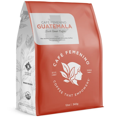 CAFE FEMENINO GUATEMALA WHOLE BEAN COFFEE