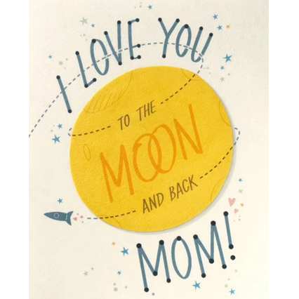 MOON & BACK MOM CARD