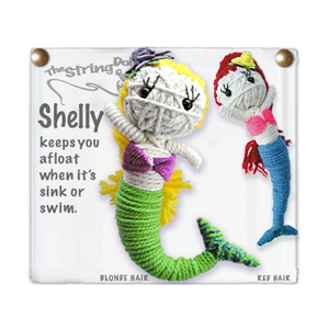 SHELLY STRING DOLL