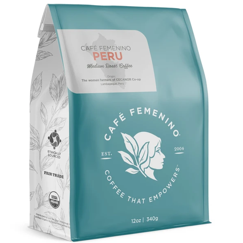 CAFE FEMENINO PERU WHOLE BEAN COFFEE