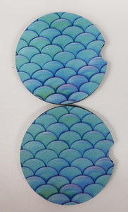 Mermaid Car Coasters