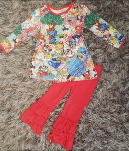 All the things Kids Boutique Outfit
