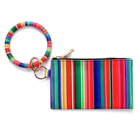 Serape Bangle Wristlet