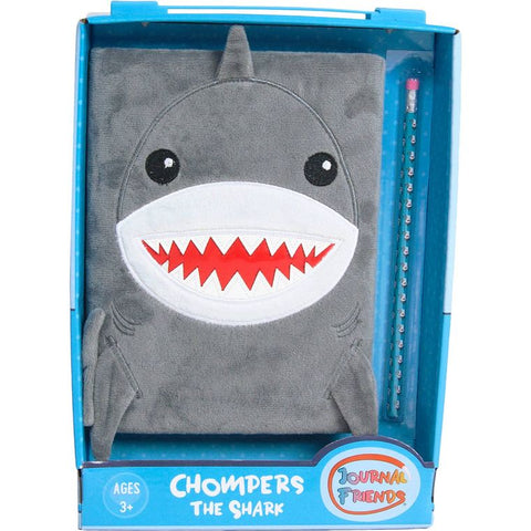 Chompers the shark journal