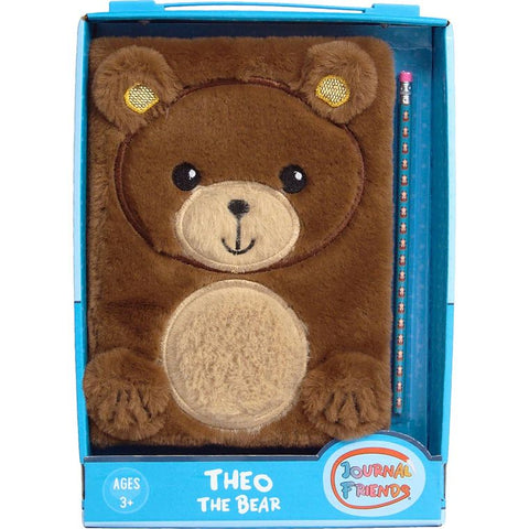 Theo the bear journal