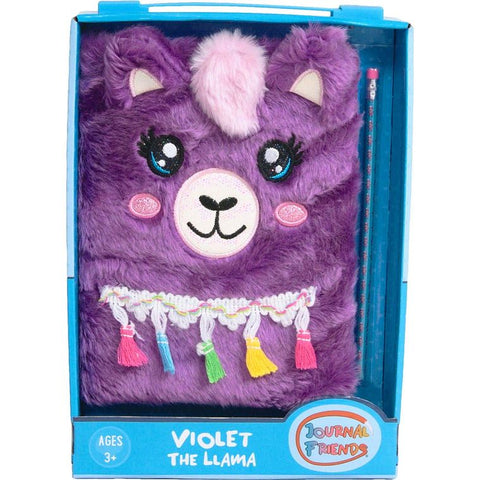 Violet the llama journal