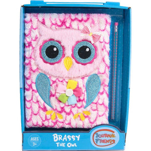 Brassy the owl journal