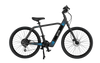 American Electric GenZe E201 Black/Blue Electric Bike with Bluetooth 350 Watts