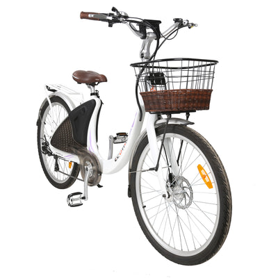 Ecotric Lark Electric City Bike For Women