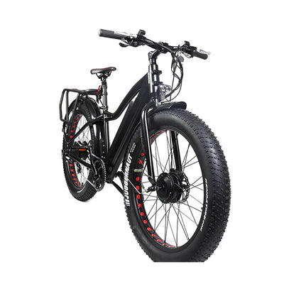 "Eunorau The 26"" Fat Tire Model FAT-AWD E-Bike"