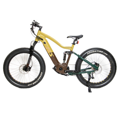 "Eunorau The 26"" Fat Tire Model FAT-HS 1000W E-Bike"