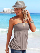 Load image into Gallery viewer, Strapless T-shirt Beach Shirt