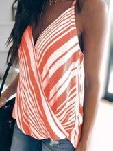 Load image into Gallery viewer, Striped Stitching Halter Tank