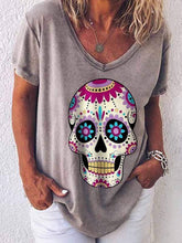 Load image into Gallery viewer, Skull Print T-Shirt