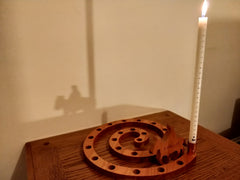 Advent Numbered Candle and Copper Sleeve Combo