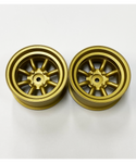 Topline RS Watanabe Eight Spoke Wheel Offset 12 Gold