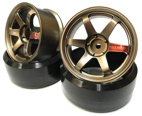 LAB TE37 Sports Wheel Offset 8 Bronze High Traction