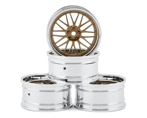 MST S-GD 21 Wheel Set (Gold) (4) (Offset-Changeable)