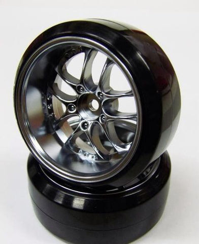 Topline SSR Agle Minerva Wheel Offset 5 Matte Chrome (2)
