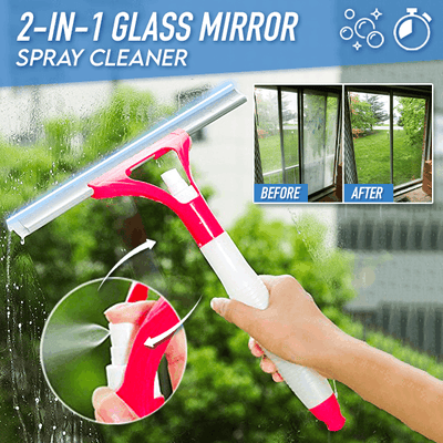 2-in-1 Glass Mirror Spray Cleaner