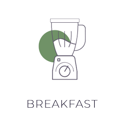Breakfast Illustration Dark