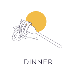 Dinner Illustration Dark