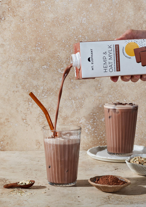 Delicious Chocolate Hemp & Oat Mylk - 1L