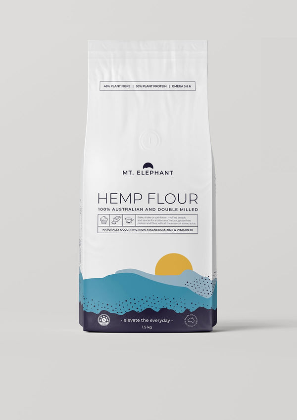 hemp flour large pouch
