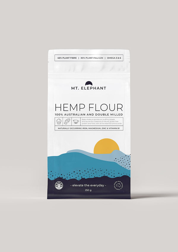 hemp flour small pouch