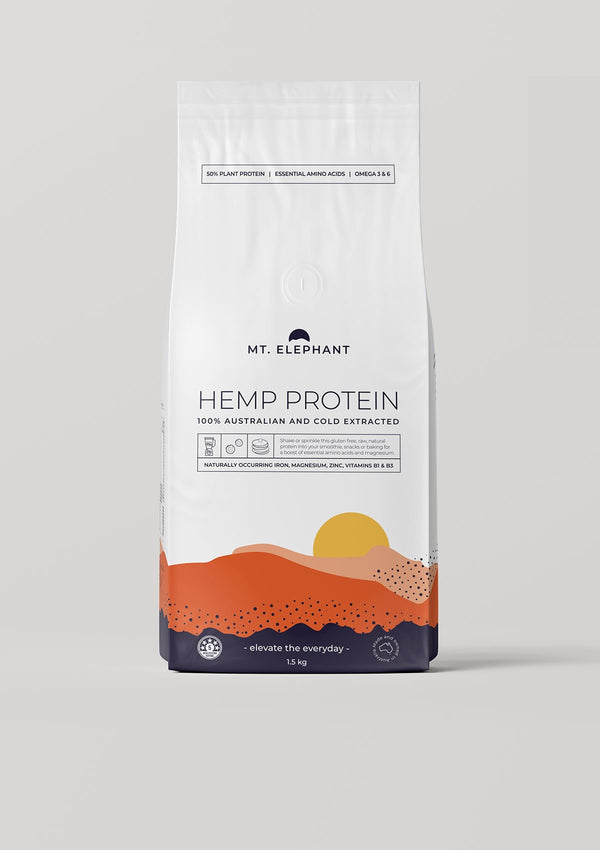hemp protein large pouch