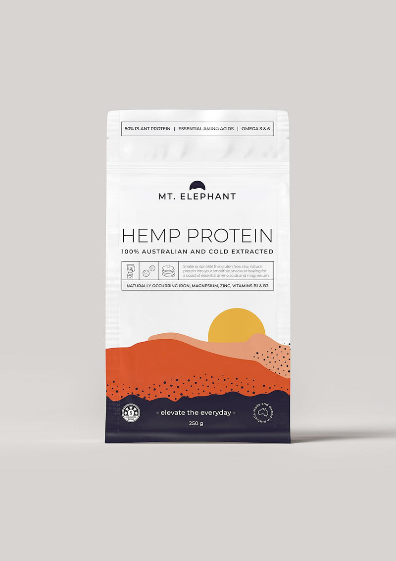hemp protein small pouch