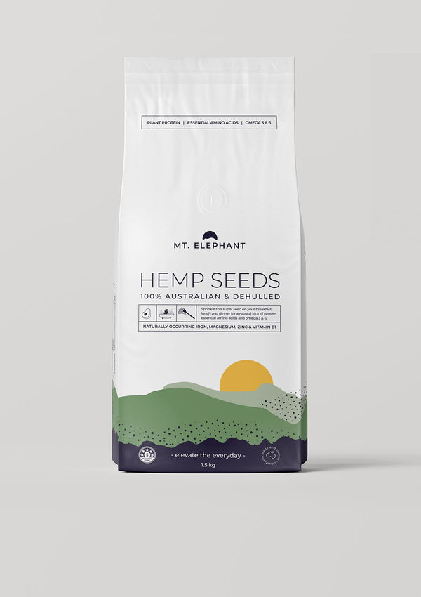 hemp seeds large pouch