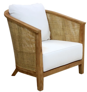 JULIET CHAIR  WHITE WASH