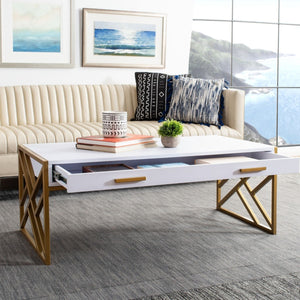 Elaine 2 Drawer Coffee Table