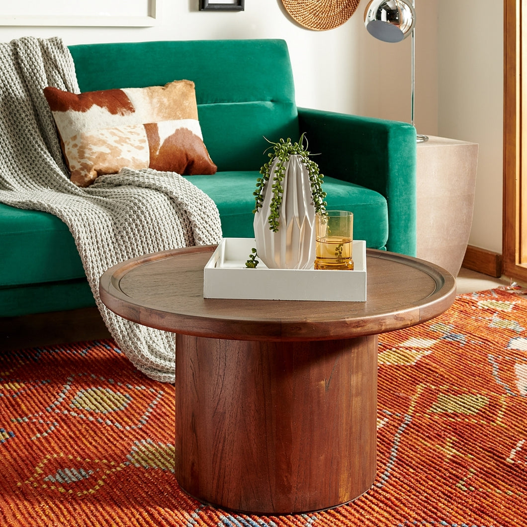 Devin Round Pedestal Coffee Table