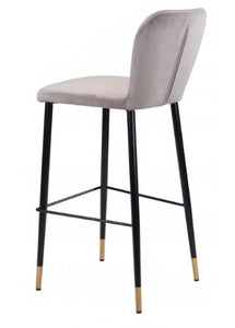 Manchester Bar Chair Gray