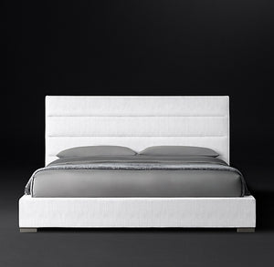 Cama Modena King Panel Horizontal