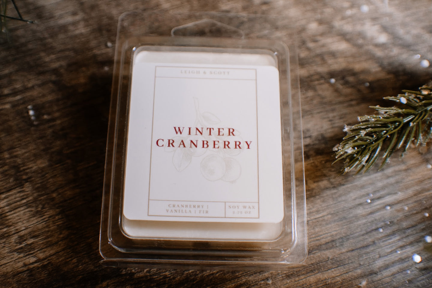Winter Cranberry Wax Melt