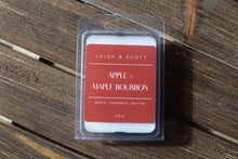 Load image into Gallery viewer, Apple & Maple Bourbon Wax Melt