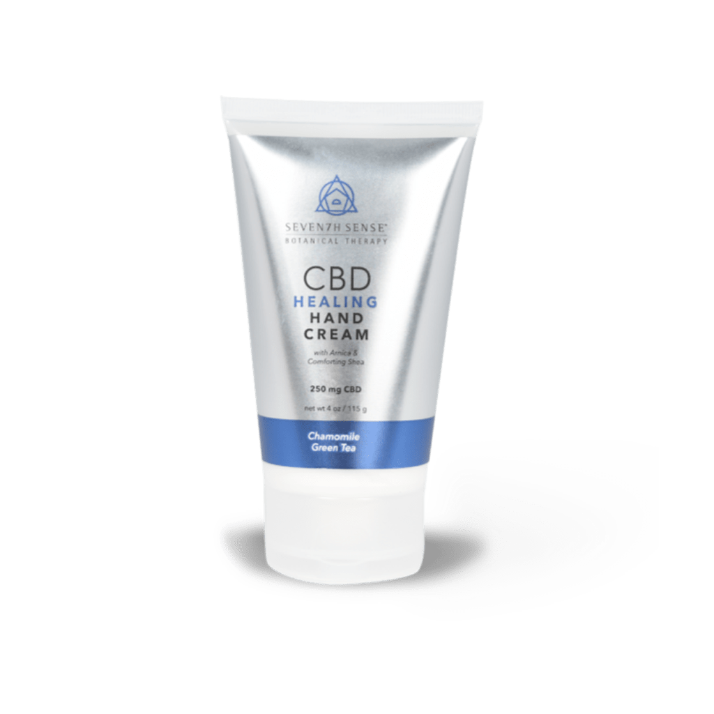 Healing CBD Hand Cream Chamomile Green Tea