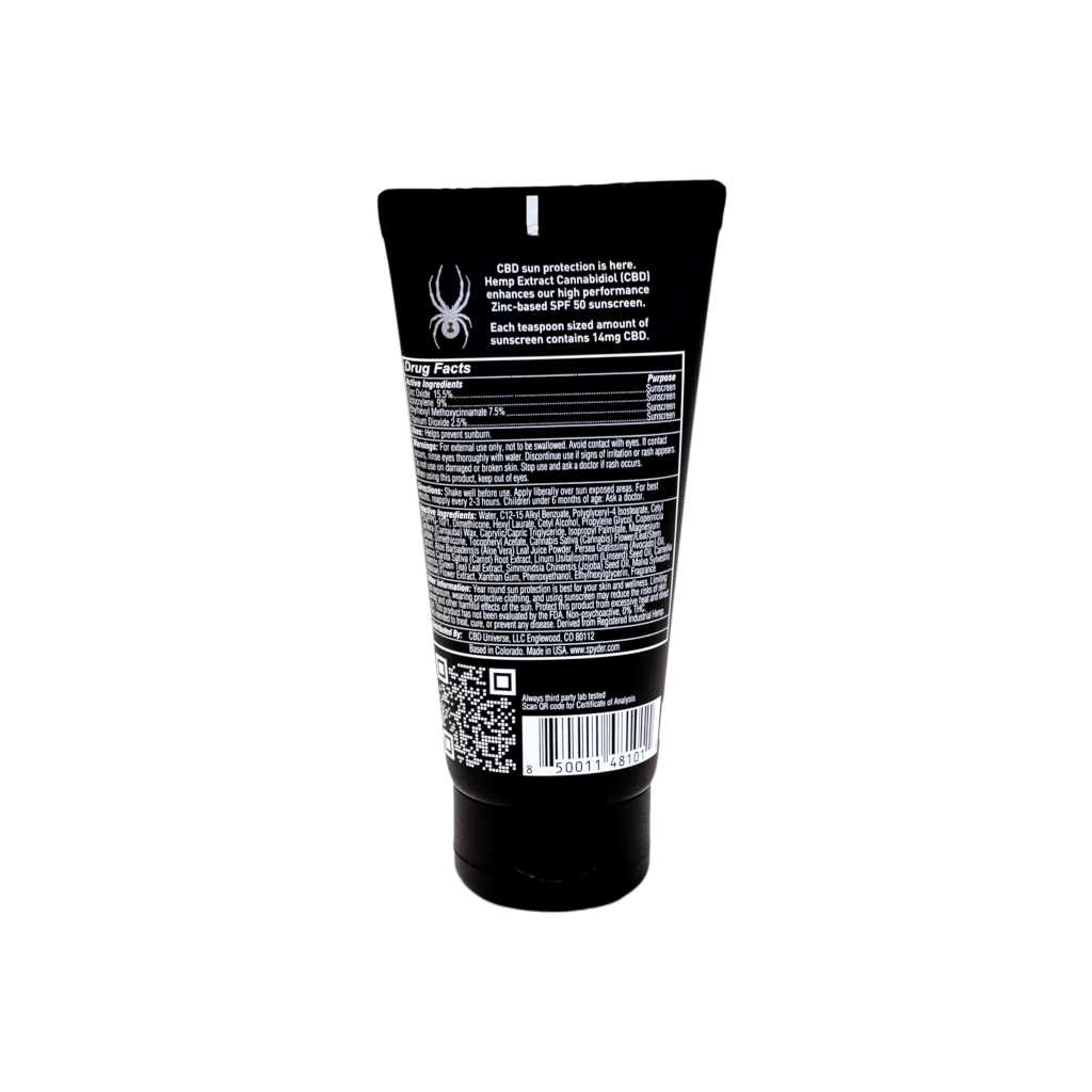Spyder Travel Sunscreen