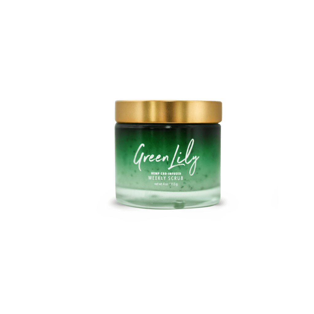 Green Lily Weekly Scrub